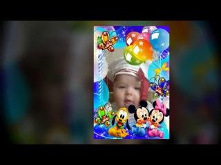 ТопФейс http://vk.com/app2257829 - Детские песни из мультфильмов/Песенка Умки. vertaSlide
